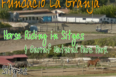 Horse Riding in Sitges Fundación La Granja - 10 mins