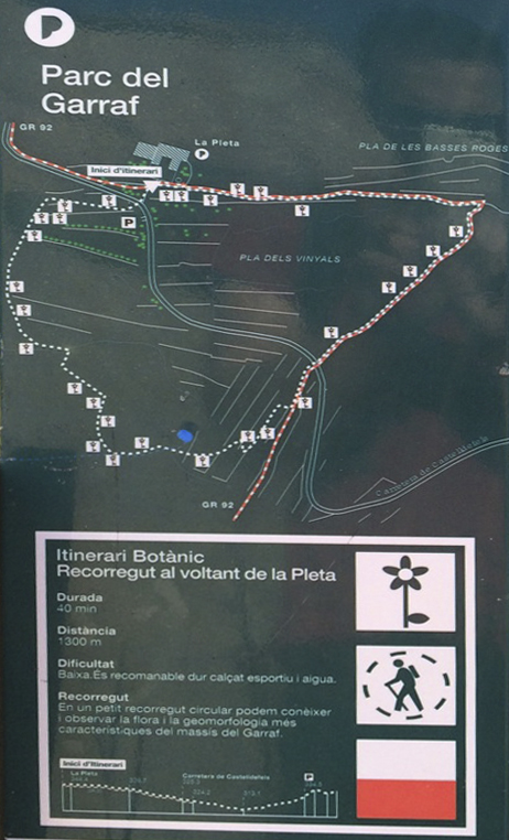 Garraf Route Walk 1