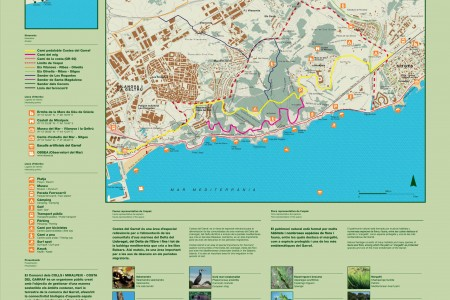 PDF of Garraf flora and map